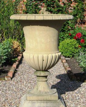 Artemis Stone Plant Vase - Large Garden Planter