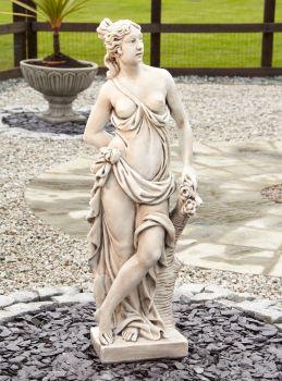 Astrid Stone Figurine Sculpture - Large Garden Statue