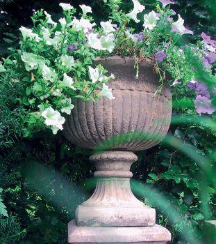 Chelsea Stone Vase Plant Pot - Large Garden Planter