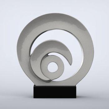 Eclipse Contemporary Indoor Sculpture - 16 Colour Options