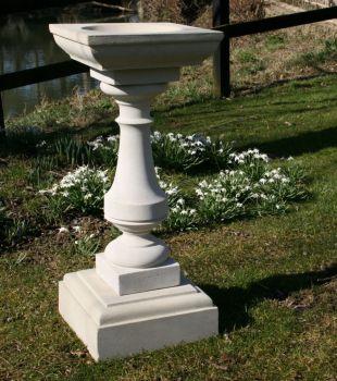 Elegance Design Stone Birdbath - Garden Bird Bath Feeders