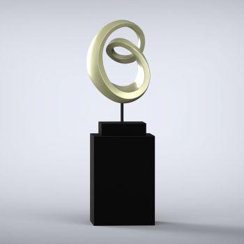 Eternity Contemporary Sculpture - 16 Colour Options