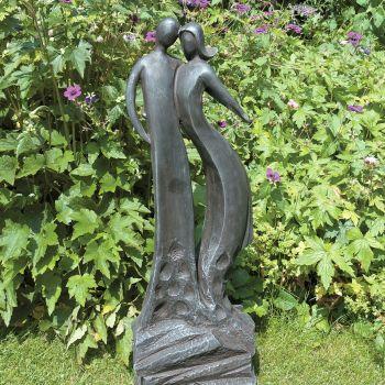 First Love Modern Garden Statue - Large Contemporary Sculpture