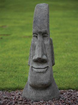 Grand Male Head Sculpture - Easter Island Head Statue
