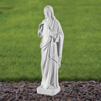 Jesus Christ 40cm Religious Statue - Marble Garden Ornament