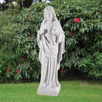 Jesus Christ 70cm Religious Sculpture - Marble Garden Statue