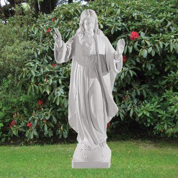 Jesus Christ 83cm Religious Sculpture - Marble Garden Statue