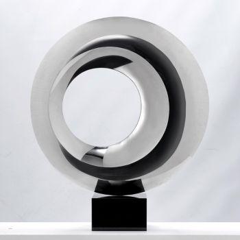 Large Revolution Metal Sculpture - Indoor Contemporary Art Statue
