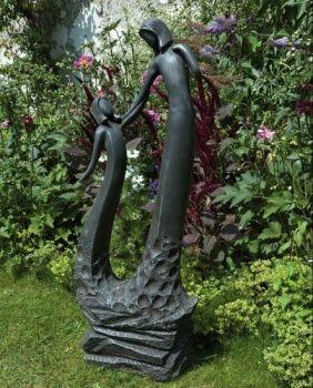 Loving Mother Modern Garden Statue - Large Contemporary Sculpture
