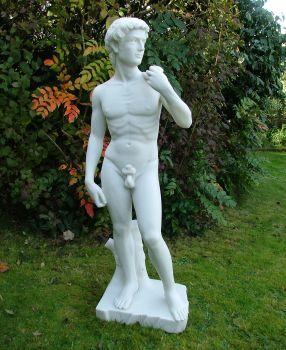 Michelangelo David Sculpture - Garden Statue Nude Art