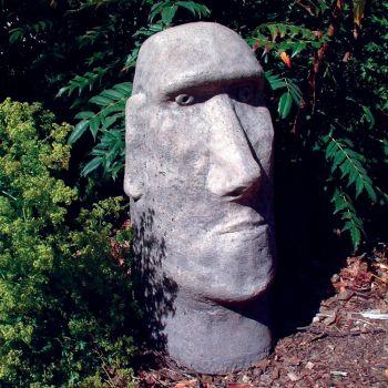 Moai Head Sculpture - Large Easter Island Statue