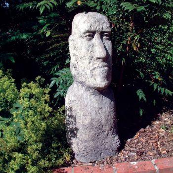 Moai Head Sculpture (XL) - Large Easter Island Statue