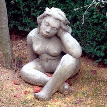 Mother Goddess Stone Statue - Large Garden Sculpture