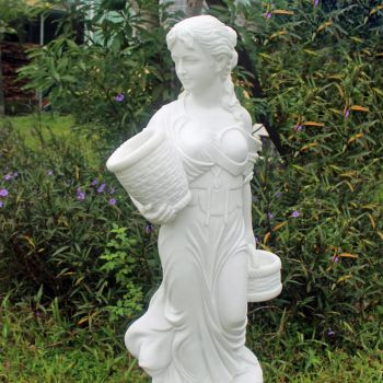 Lucille 155cm Marble Resin Garden Statue
