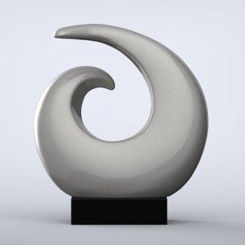 Revolve Contemporary Indoor Sculpture - 16 Colour Options
