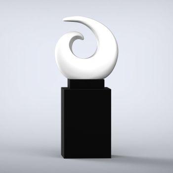 Revolve Contemporary Sculpture - 16 Colour Options