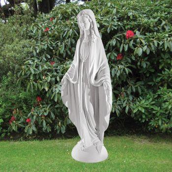 Virgin Mary 73cm Religious Sculpture - Marble Garden Statue