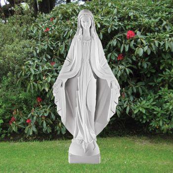 Virgin Mary 75cm Religious Sculpture - Marble Garden Statue