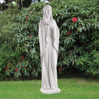 Virgin Mary 85cm Religious Sculpture - Marble Garden Statue
