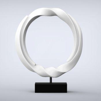 Vortex Contemporary Indoor Sculpture - 16 Colour Options