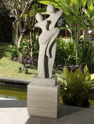Ballroom Grace Garden Sculpture Modern Stone Statue