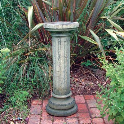 Brighton Column Pedestal - Stone Statue Plinth