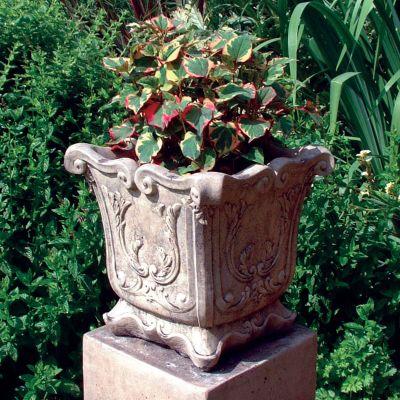 Modena 22 Stone Vase Plant Pot - Large Garden Planter