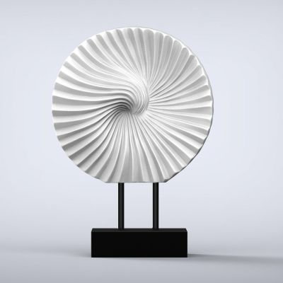 Cyclone Contemporary Indoor Sculpture - 16 Colour Options