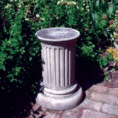 Doric Column Pedestal - Stone Statue Plinth