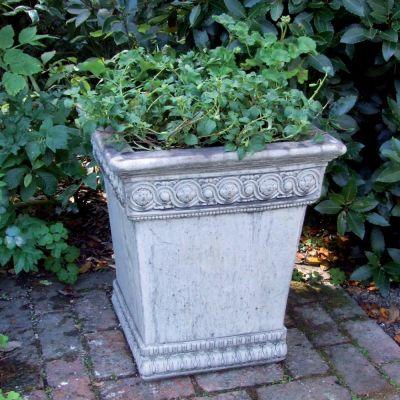 Empire Stone Urn Plant Pot - Large Garden Planter