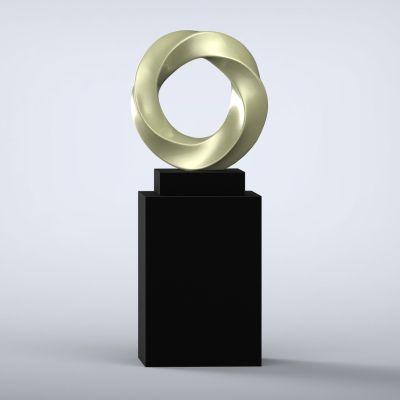 Halo Contemporary Sculpture - 16 Colour Options