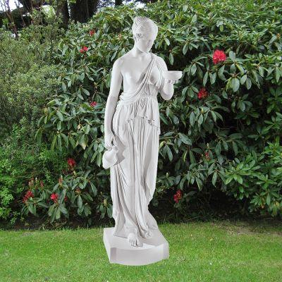 Hebe 80cm Greek Garden Sculpture - Large Marble Statue