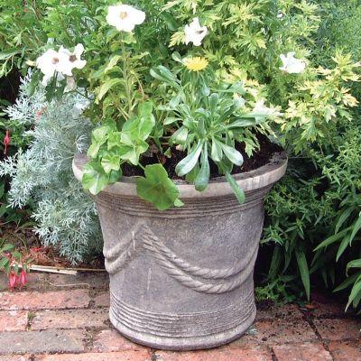 Modena 27 Stone Vase Plant Pot - Large Garden Planter