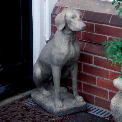 Pointer Dog Sculpture Ornament - Large Garden Statue