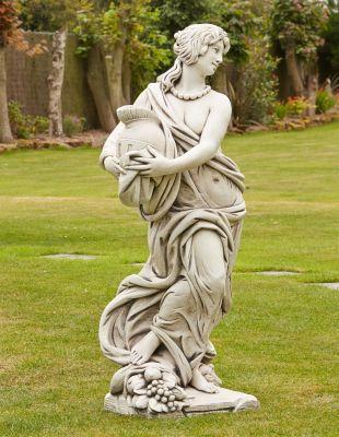Roman Goddess Gladiator Stone Sculpture - Large Garden Statue