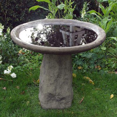 Staddle Stone Birdbath - Garden Bird Bath Feeder