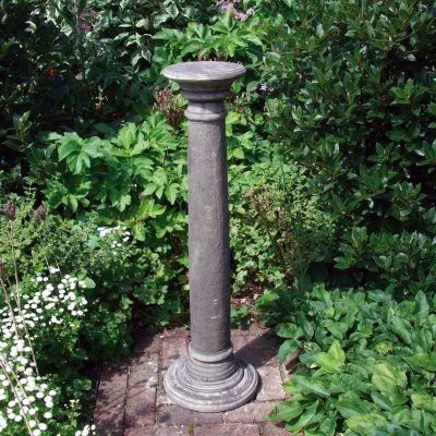 Tall Column Pedestal - Stone Statue Plinth