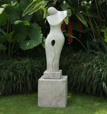 Timeless Garden Sculpture Modern Stone Statue