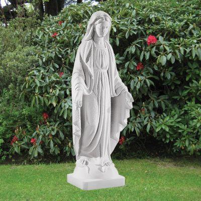 Virgin Mary 58cm Religious Sculpture - Marble Garden Statue