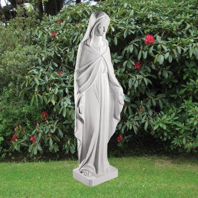 Virgin Mary 96cm Religious Sculpture - Marble Garden Statue