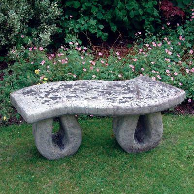 Weildon Stone Bench - Large Garden Bench