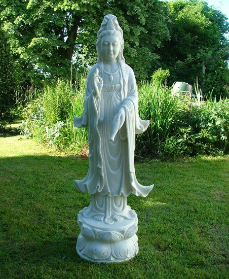 Guan Yin Bodhisattva Buddha Sculpture - Large Garden Statue