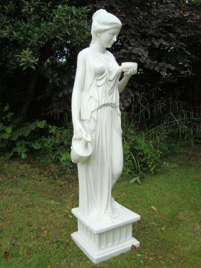 Hebe Sculpture - Large Garden Statue Ornament Art