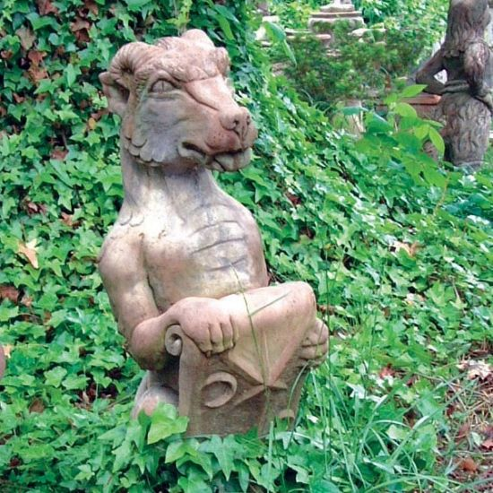 Mystical Dragon Stone Statue - Large Garden Sculpture