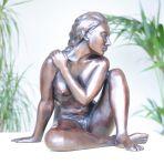 Caterina II Bronze Sculpture - Nude Female Modern Figurine
