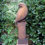 Eagle Modern Sculpture (Rust) - Large Garden Statue
