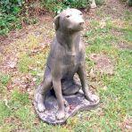 Labrador Dog Sculpture Ornament - Large Garden Statue