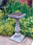 Large Baluster Stone Bird Bath - Garden Birdbath Feeder