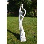 Love & Dancing Modern Garden Statue - Large Contemporary Sculpture