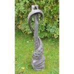 Loving Kiss Modern Garden Statue - Large Contemporary Sculpture